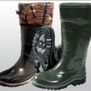 Обувь резиновая и ПВХ