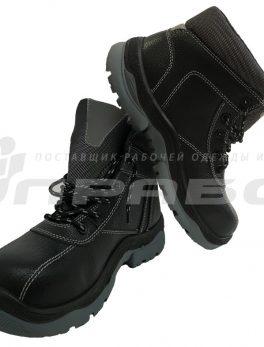 Ботинки рабочие кожаные «БАРС» ПУ/ТПУ подошва с КП