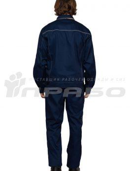 Костюм мужской «Профессионал 1» синий/бежевый