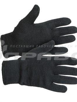 Перчатки двойной вязки