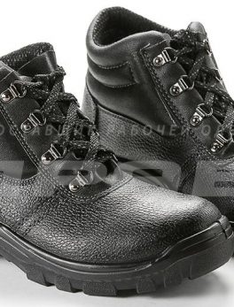 Ботинки рабочие утепленные кожаные «Олимп-13M» ПУ подошва