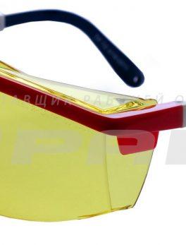 Очки защитные открытые Авиатор контраст арт.112212К