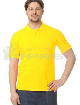 """Рубашка """"Поло"""" жёлтая"""