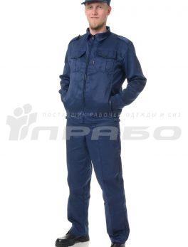 Костюм мужской «Альфа» синий
