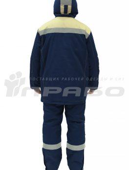 Костюм утепленный мужской «Профессионал2» синий/бежевый