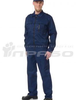 Костюм мужской «Ясон» синий