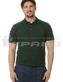 """Рубашка """"Поло"""" зелёная"""