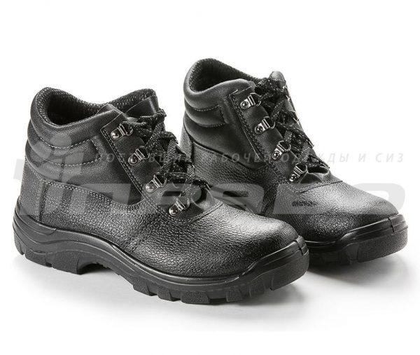 """Ботинки рабочие кожаные """"Олимп-12"""" ПУ подошва с МП"""