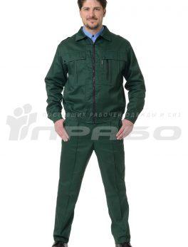 Костюм мужской «Ясон» зеленый