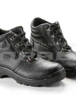 """Ботинки рабочие кожаные """"Олимп-13"""" ПУ подошва"""