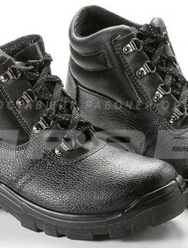 Ботинки рабочие утепленные кожаные «Олимп-14» ПУ подошва с МП