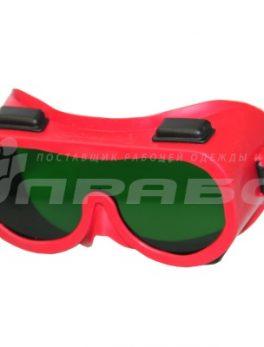 Очки защитные закрытые с непрямой вентиляцией ЗН4 ЭТАЛОН (3 CA) РОСОМЗ арт.20428