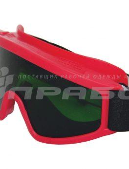 Очки защитные закрытые с прямой вентиляцией ЗП2 СУПЕР ПАНОРАМА (3 CA) РОСОМЗ арт.30228 (34228)