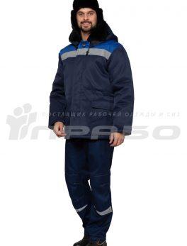 Куртка рабочая утепленная «Бригадир» СОП