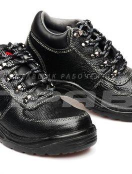 """Ботинки рабочие кожаные """"Викинг НИТРО-22Р"""" ПУ/резина с МП"""