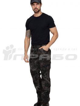 Брюки мужские «Tactical» КМФ Питон ночь