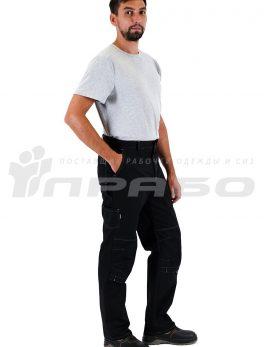 Брюки мужские «Люкс» черные