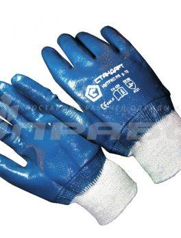 Перчатки нитриловые полный облив манжет