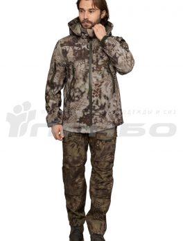 Тактическая куртка софтшелл КМФ Питон Скала