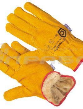 Перчатки цельноспилковые «Драйвер» утепленные