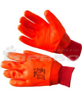 Перчатки нефтеморозостойкие ПВХ, манжет резинка