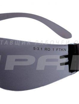 Очки защитные открытые Альфа дарк арт.111534Д