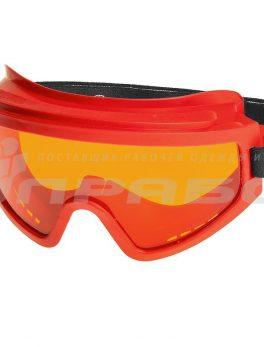 Очки защитные закрытые с непрямой вентиляцией ЗН11 PANORAMA (2-2 PL) арт. 21112