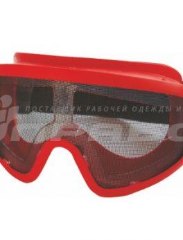 Очки защитные закрытые с прямой вентиляцией ЗП2 PANORAMA СТАЛЬ (PC) РОСОМЗ арт.26206