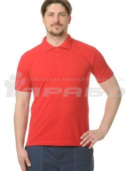"""Рубашка """"Поло"""" красная"""