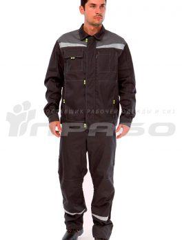 Костюм мужской «Профессионал 1» серыйсерый