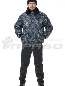 Куртка утепленная «Альфа» КМФ город серый