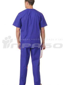 Костюм медицинский хирурга синий