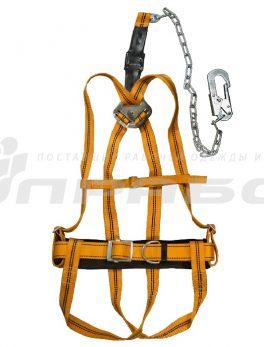 Пояс предохранительный ПП 2 ГЖ с наплечными и набедренными лямками (УСП2ГЖ)