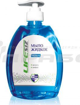 Жидкое мыло «Элен» серия «АКТИВ», 520 мл (с дозатором)
