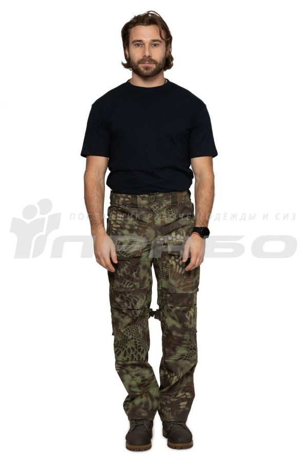 Брюки мужские «Tactical» КМФ Питон Лес
