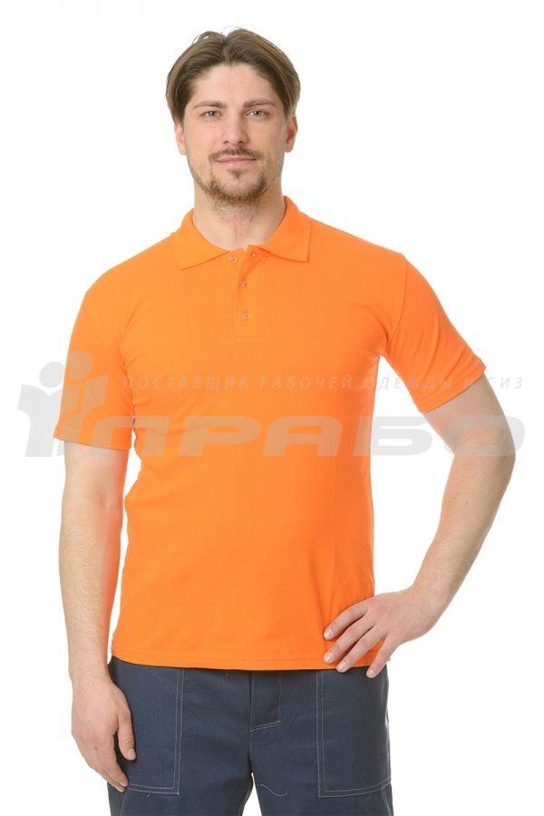 """Рубашка """"Поло"""" оранжевая"""