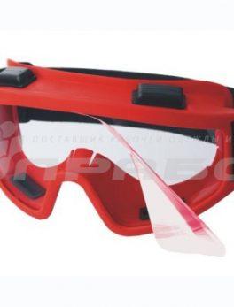 Очки защитные закрытые с непрямой вентиляцией ЗН11 SUPER PANORAMA (CA) АЦЕТАТ  РОСОМЗ арт.21107