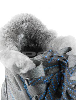 Ботинки рабочие зимние «Викинг НИТРО-112» с натуральным мехом и КП (200 Дж)